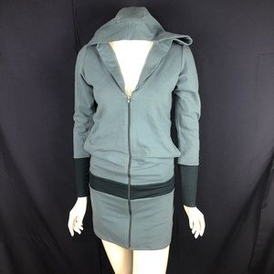 NEW-Lure High Fashion Keepsake Hood/Pockets Dress